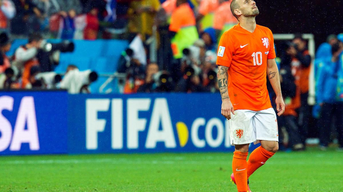 Wesley Sneijder, Pays-Bas.