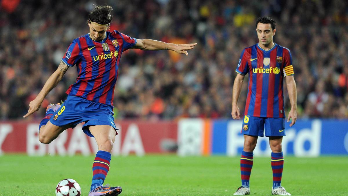 Zlatan Ibrahimovic - Xavi Hernandez