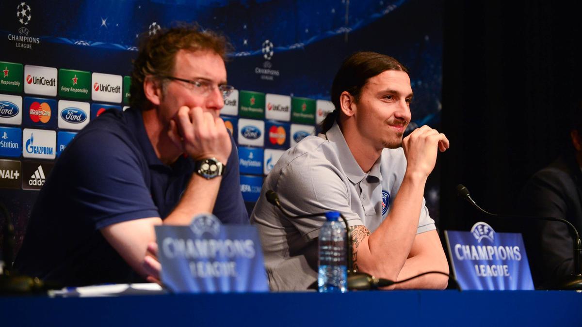 Laurent Blanc - Zlatan Ibrahimovic, PSG