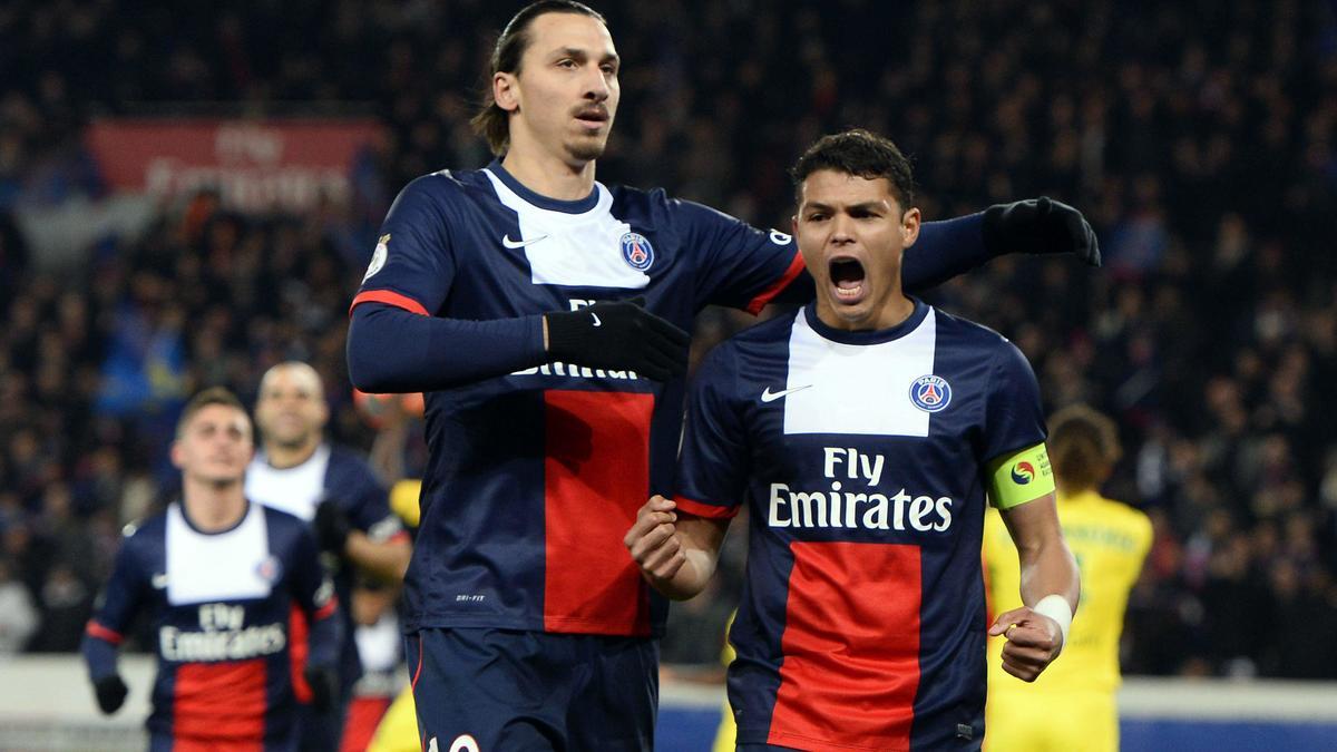 Zlatan Ibrahimovic & Thiago Silva, PSG