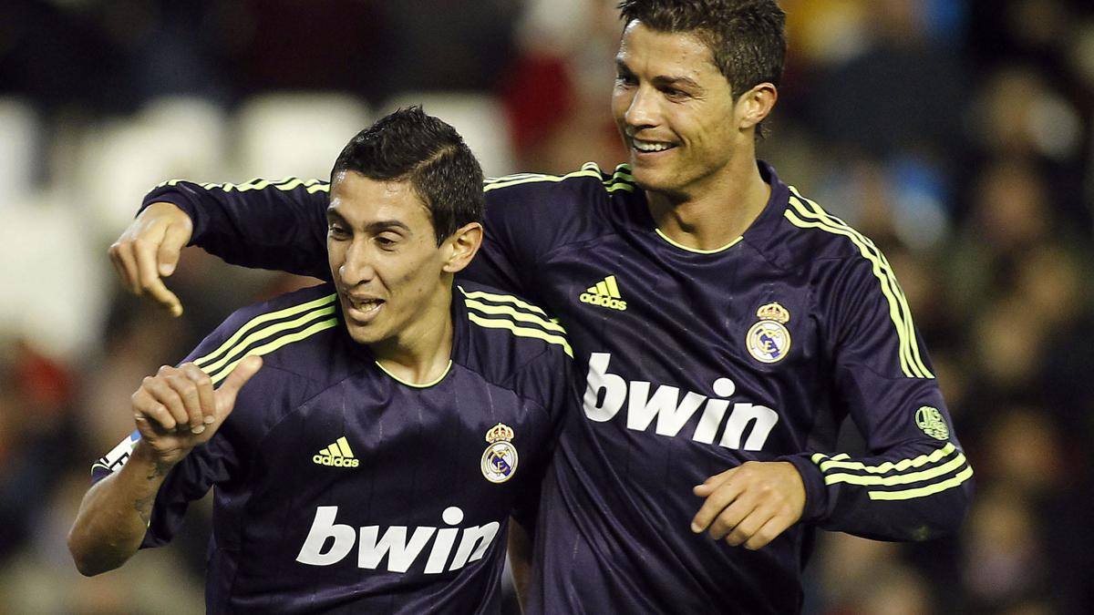 Angel Di Maria & Cristiano Ronaldo