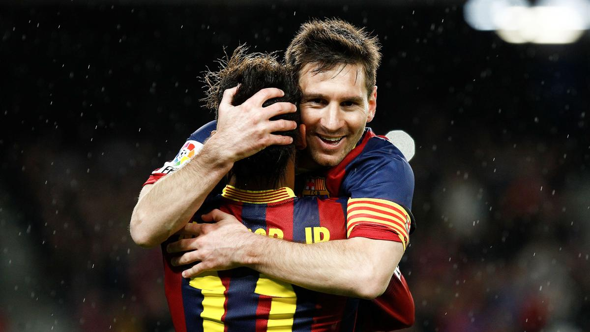 Neymar & Lionel Messi, Barcelone
