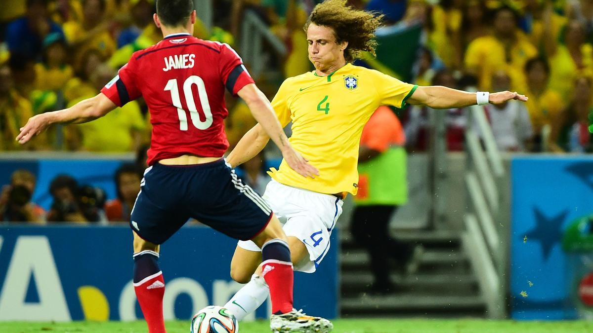 David Luiz - James Rodriguez