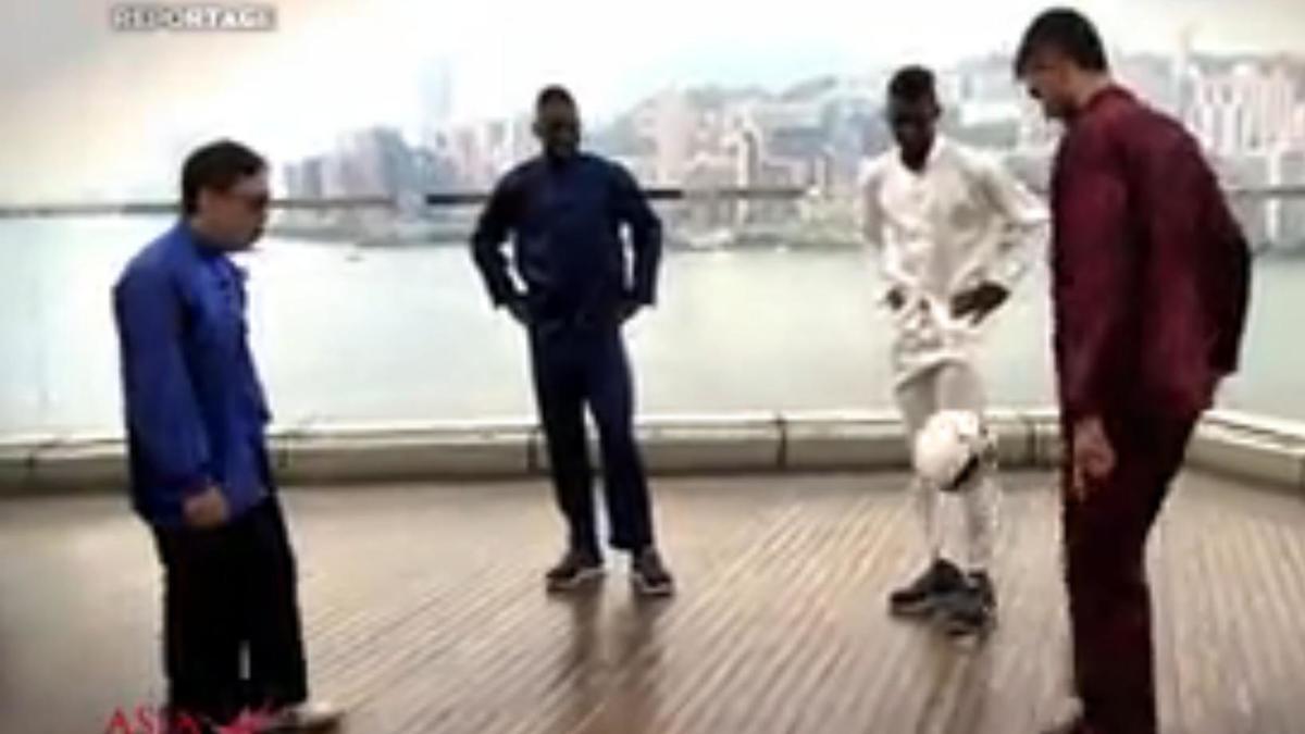PSG - Insolite : Les parisiens version Tai - Chi ! (vidéo)