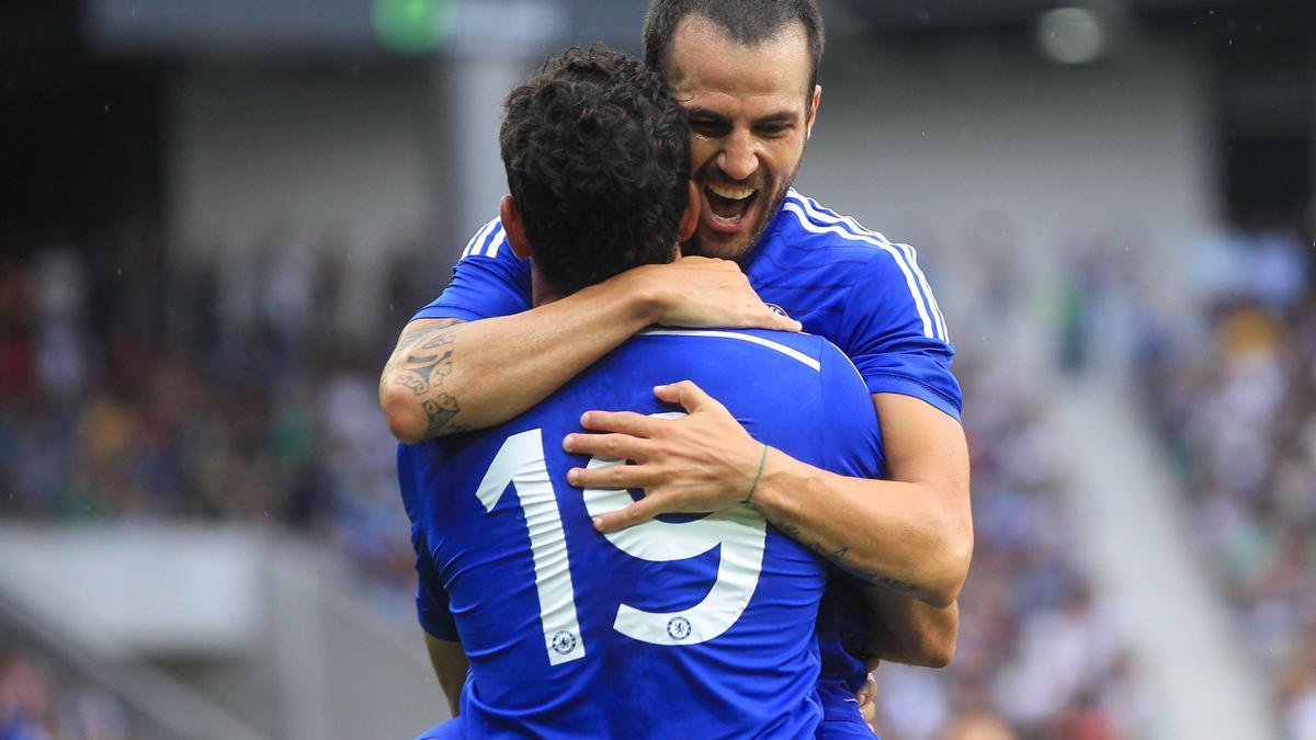 Mercato - Chelsea - Insolite : Le bizutage « fou » de Cesc Fabregas (vidéo)