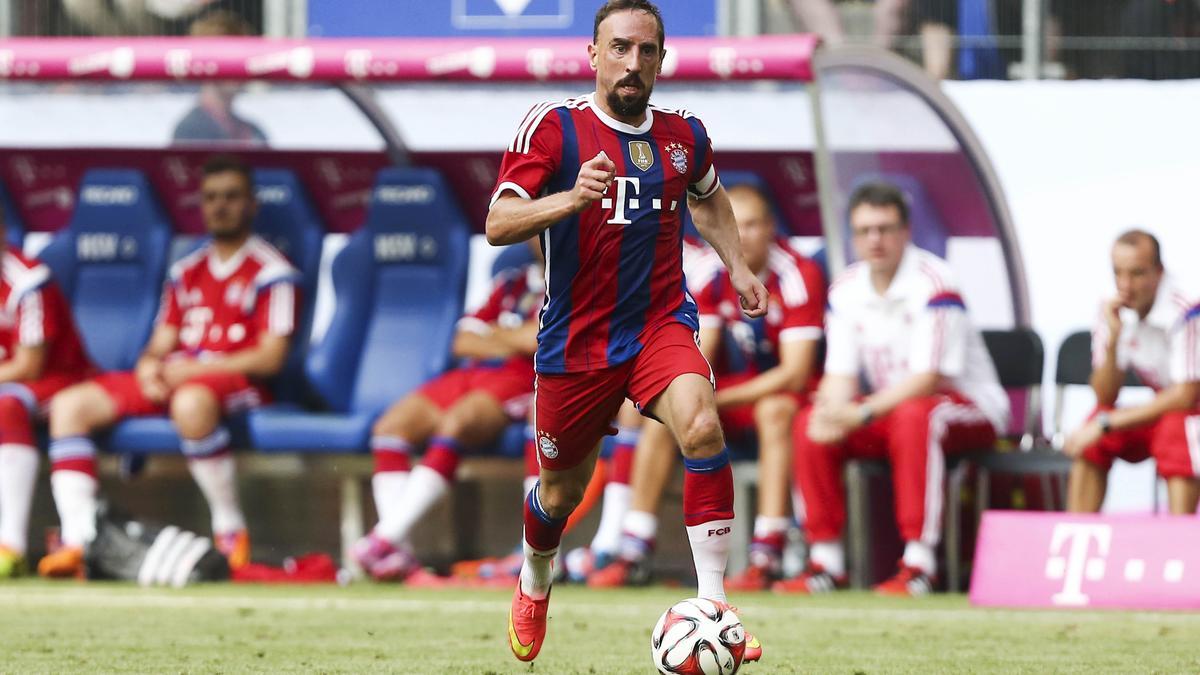Franck Ribéry, Bayern Munich.