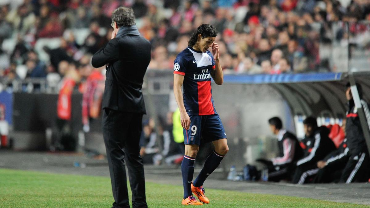 Edinson Cavani - Laurent Blanc