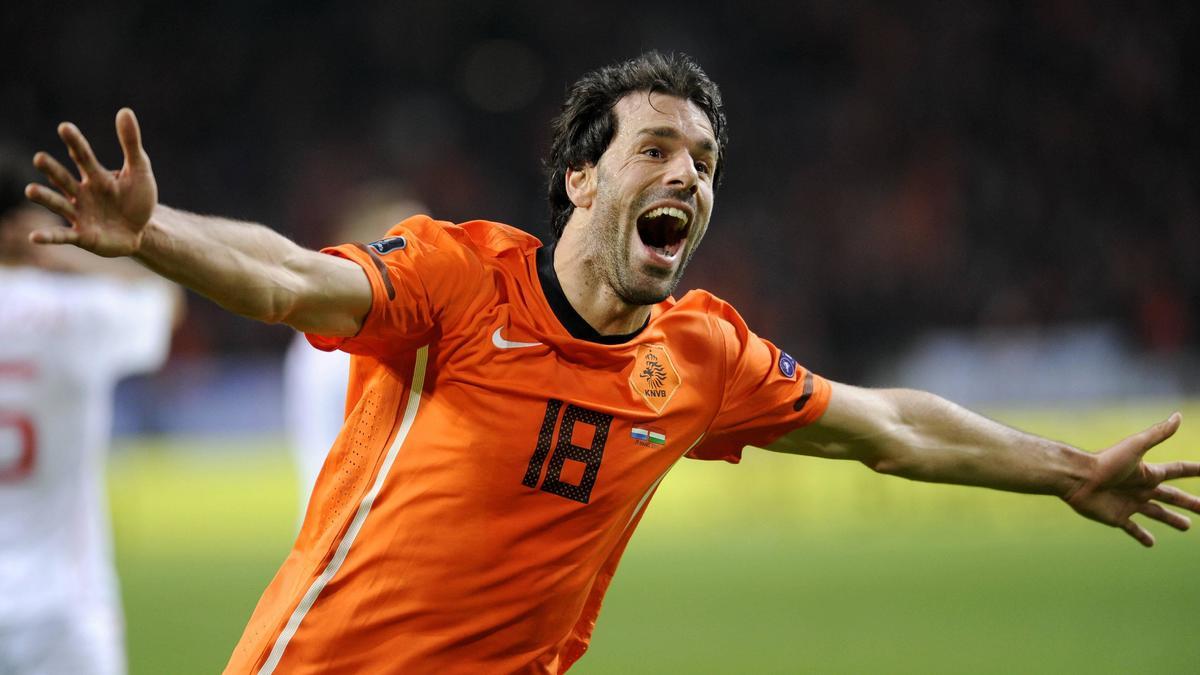 Ruud Van Nistelrooy, Pays-Bas