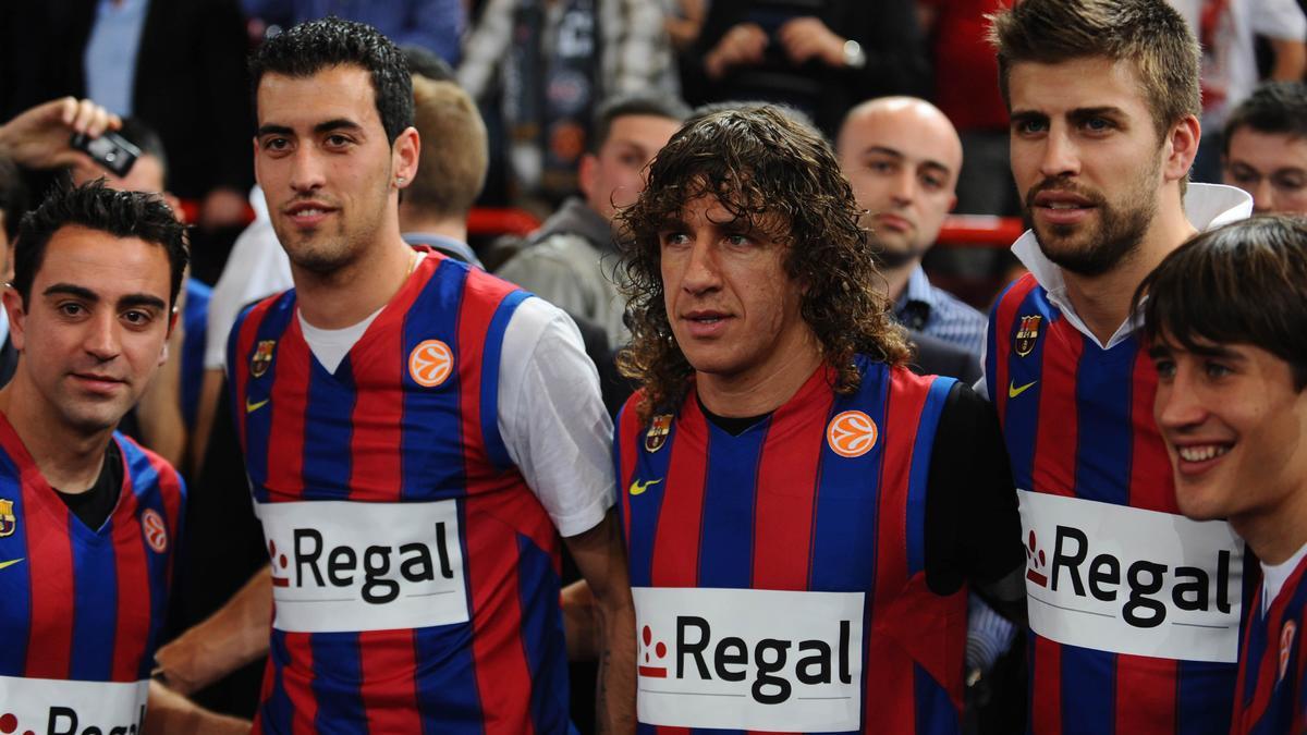 Sergio Busquets, Carles Puyol