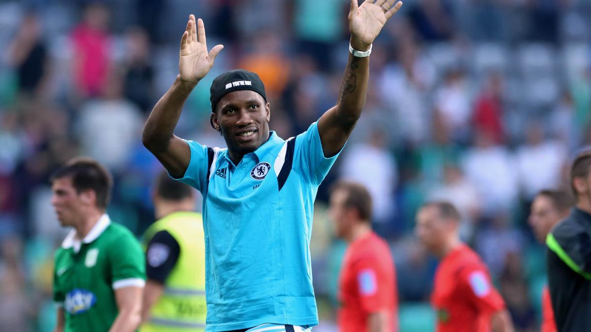 Didier Drogba, Chelsea.