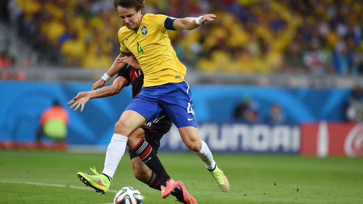 David Luiz, Brésil