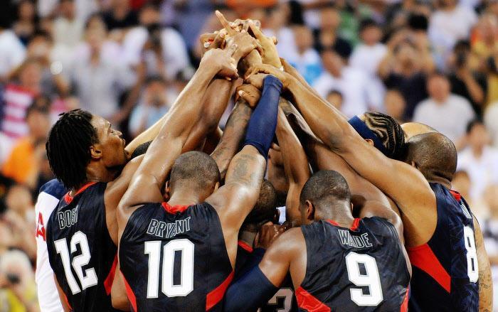 Joueurs de la Team USA