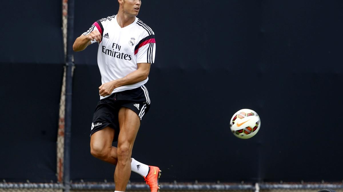 Cristiano Ronaldo, Real Madrid.