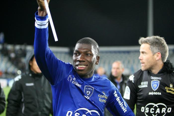 Mercato - SC Bastia : Adama Ba prêté à Niort