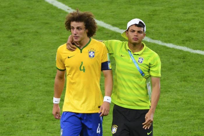 Thiago Silva, David Luiz