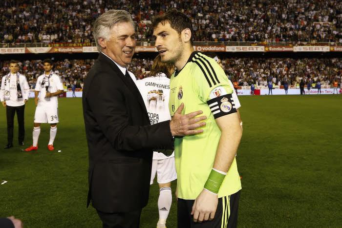 Real Madrid : La mise au point d'Ancelotti sur les critiques envers Casillas !