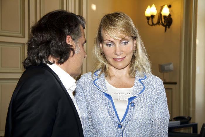 Vincent Labrune et Margarita Louis-Dreyfus