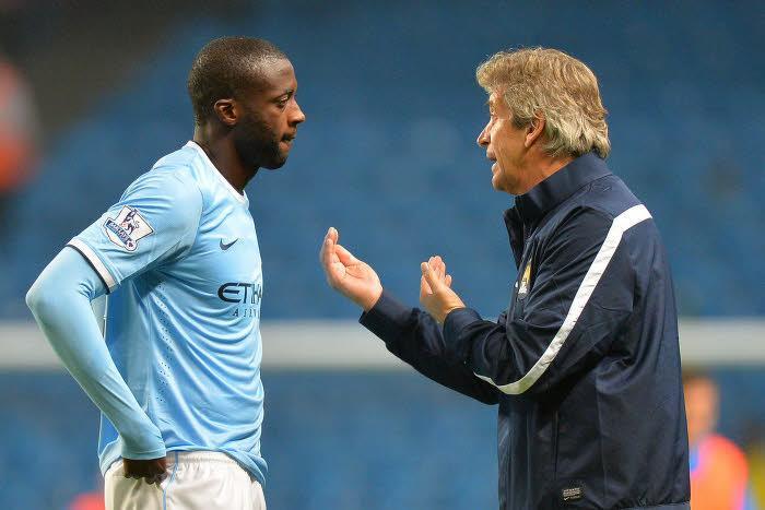 Manchester City/PSG : Pellegrini évoque le cas Yaya Touré !