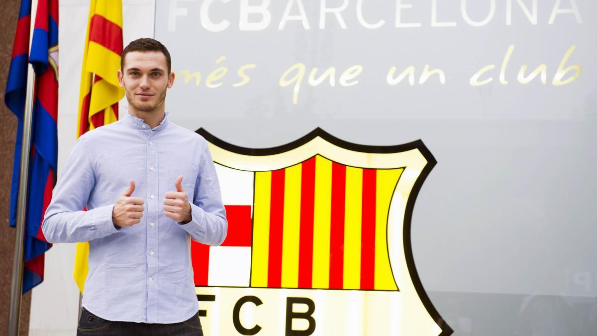 Cette précision importante du Barça sur le transfert de Vermaelen…