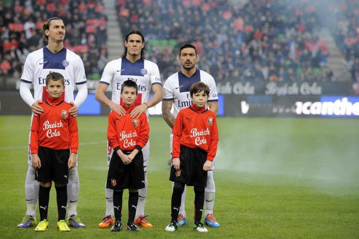 PSG : Ibrahimovic et Lavezzi désireux de voir Cavani partir ?