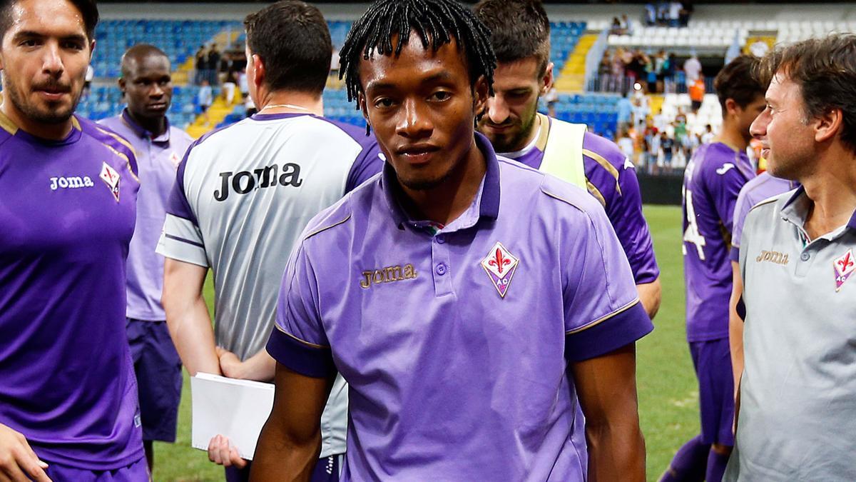 Mercato - Barcelone/Manchester United : La Fiorentina scelle le sort de Cuadrado !