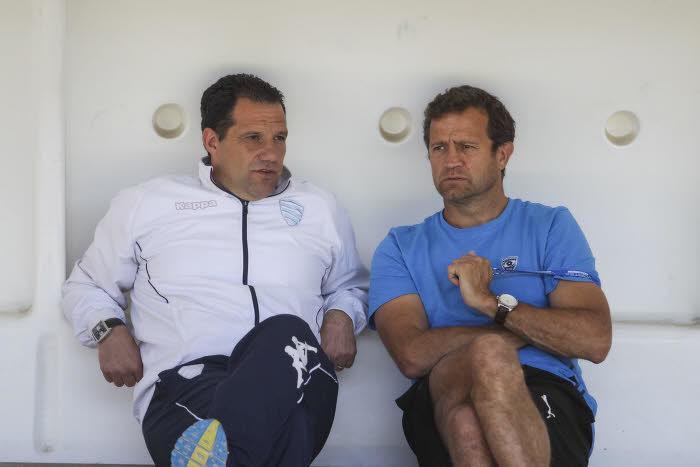 Laurent Labit et Fabien Galthié