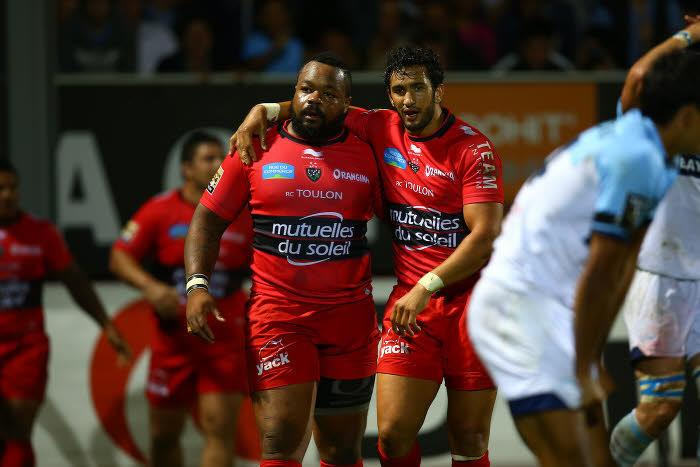 Mathieu Bastareaud et Maxime Mermoz, RC Toulon