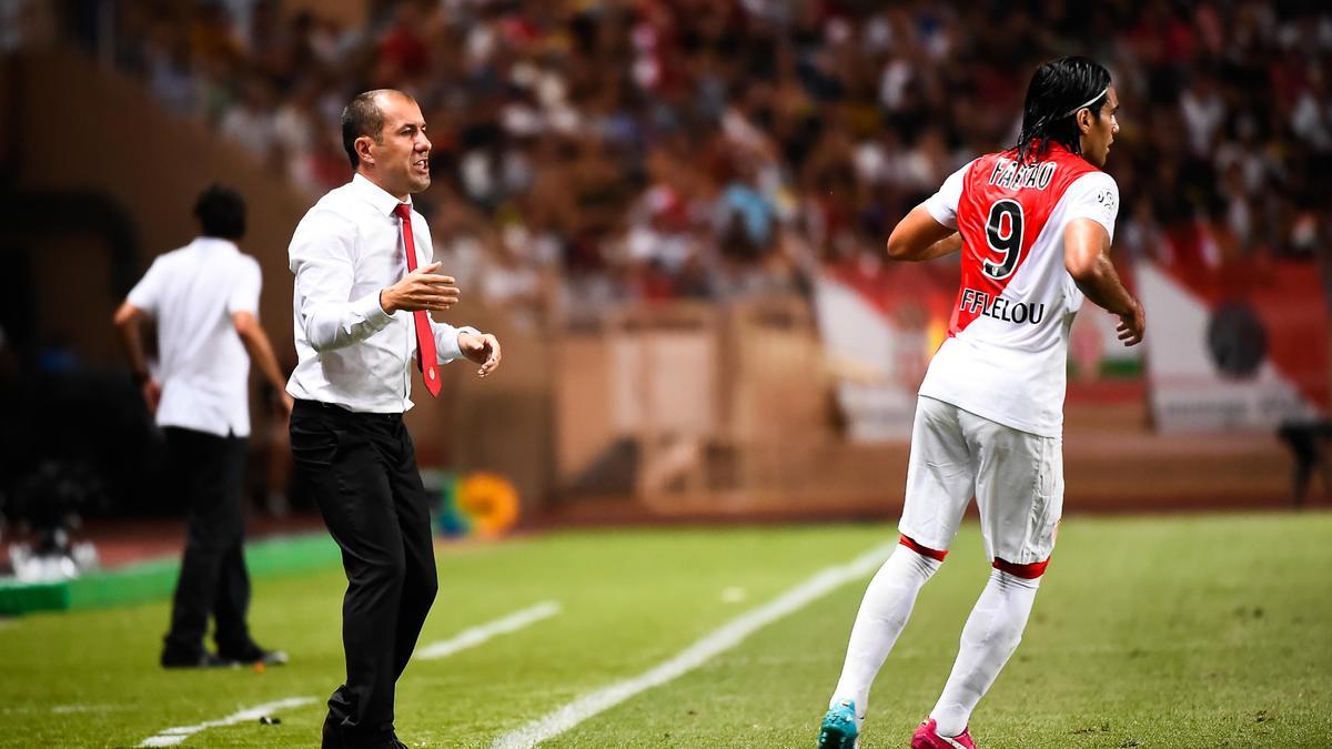 Leonardo Jardim & Radamel Falcao, AS Monaco