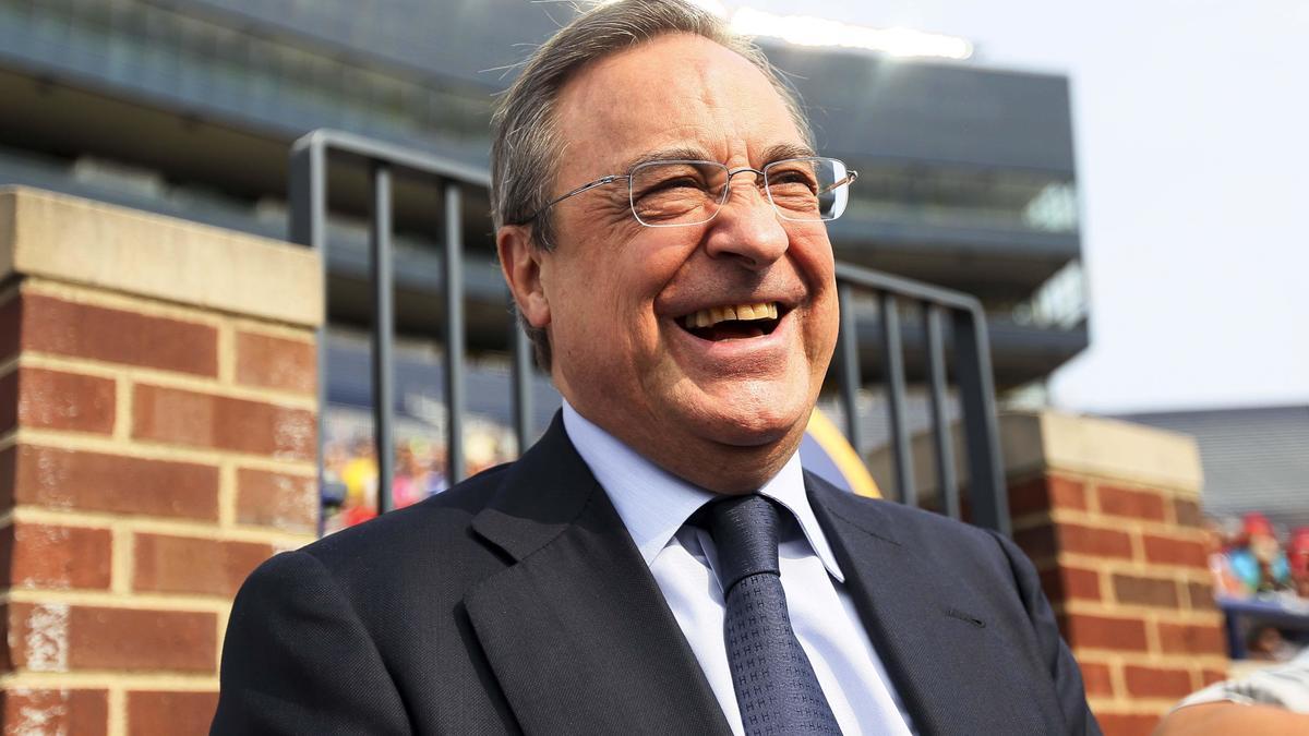 Florentino Perez au Real Madrid