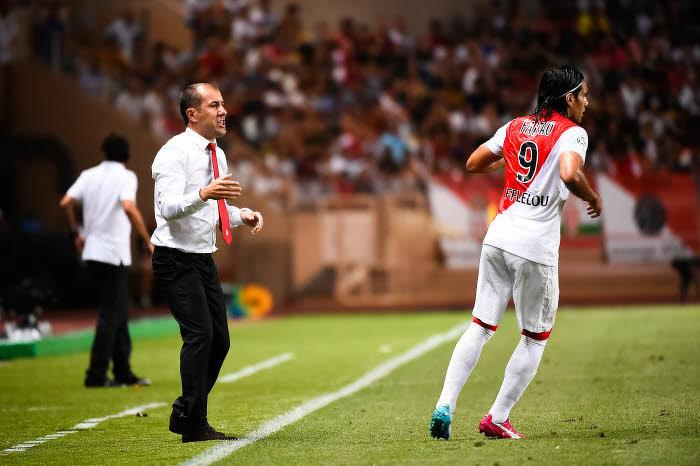 Leonardo Jardim et Falcaon AS Monaco