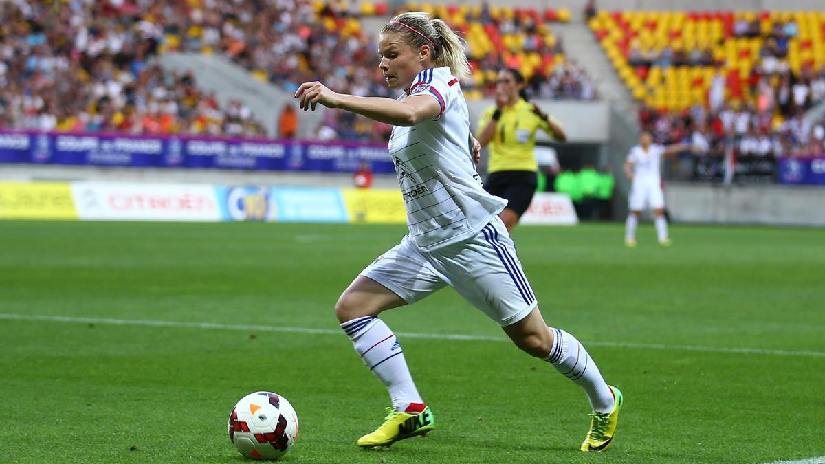 Eugénie Le Sommer, équipe de France