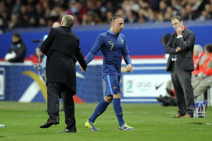 Didier Deschamps, Franck Ribéry