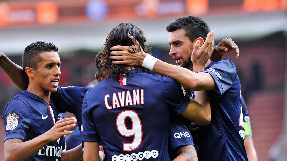 Edinson Cavani - Javier Pastore, PSG
