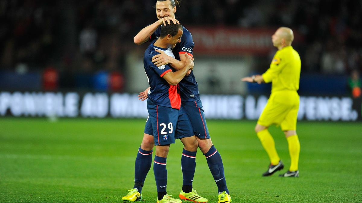 Zlatan Ibrahimovic & Lucas, PSG