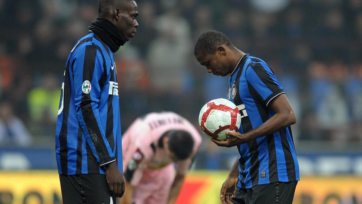 Mario Balotelli & Samuel Eto'o
