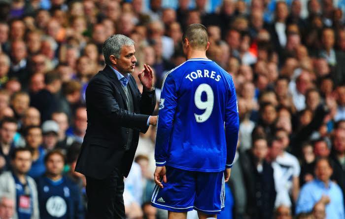 José Mourinho et Fernando Torres, Chelsea