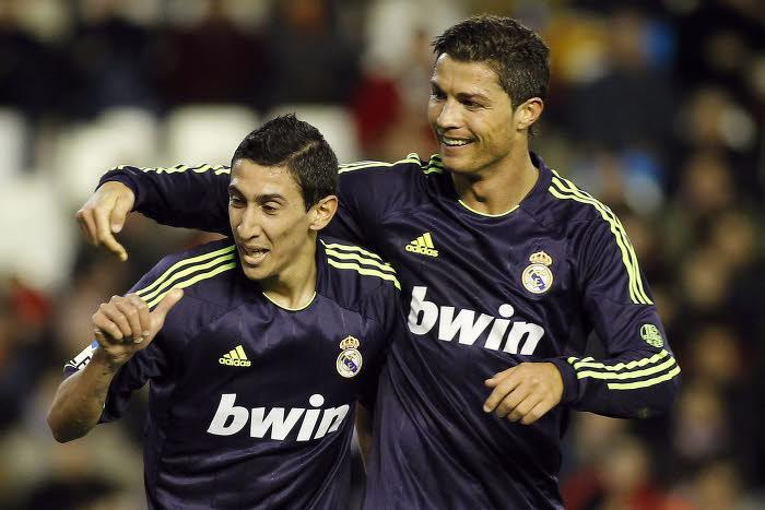 Angel Di Maria et Cristiano Ronaldo, en 2013