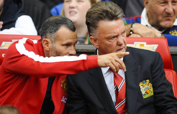 Ryan Giggs et Louis Van Gaal, Manchester United