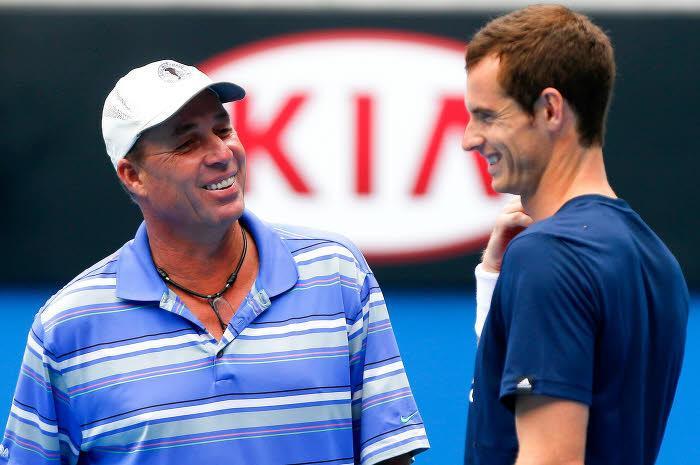Ivan Lendl et Andy Murray