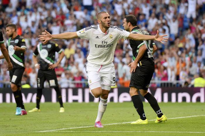Liga : Benzema d�cisif, le Real Madrid vainqueur !