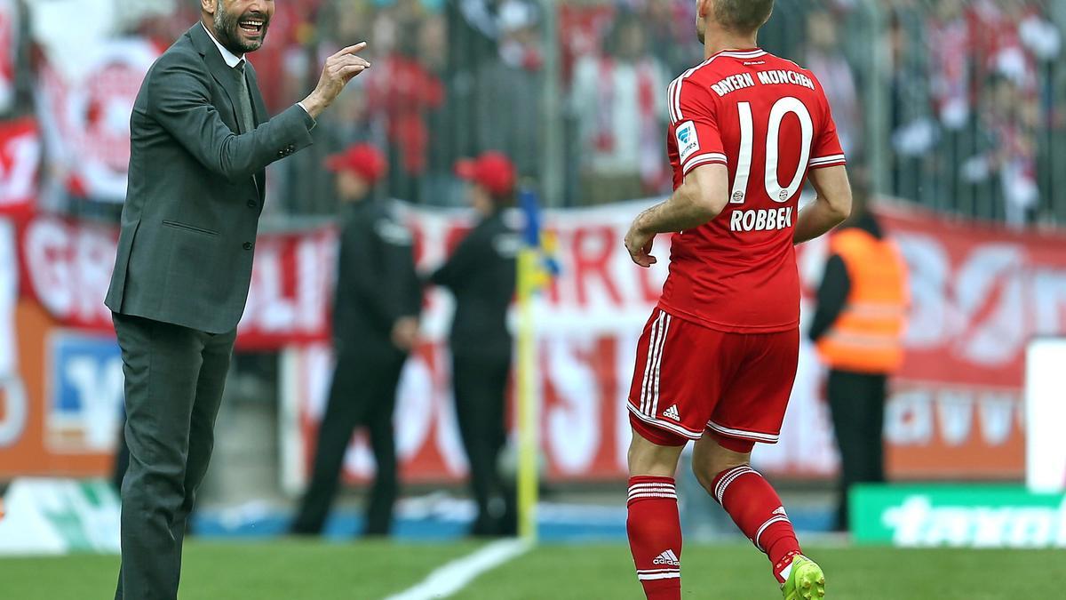 Bayern Munich : Robben évoque le rôle de Guardiola dans sa progression