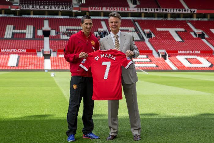 Manchester United : Van Gaal justifie le recrutement d'Angel Di Maria !