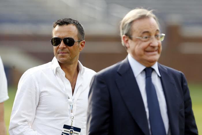 Jorge Mendes et Florentino Pérez