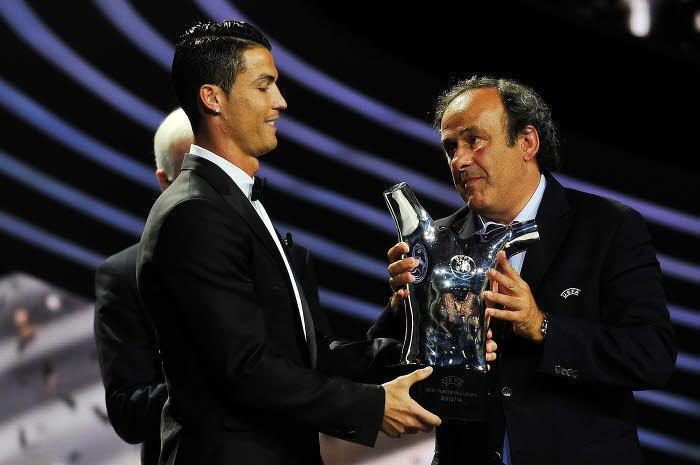 Cristiano Ronaldo répond à Michel Platini pour le Ballon d'Or !