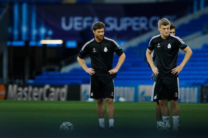 Xabi Alonso et Toni Kroos, Real Madrid