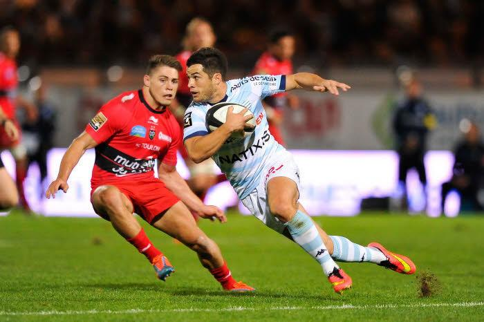 Rugby - Top 14 : Le Racing-Métro se paye Toulon !