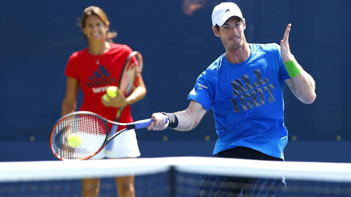 Tennis - US Open - Murray : �Mauresmo ? Je ne lis pas ce qu'il se dit, je trouve que tout va bien�