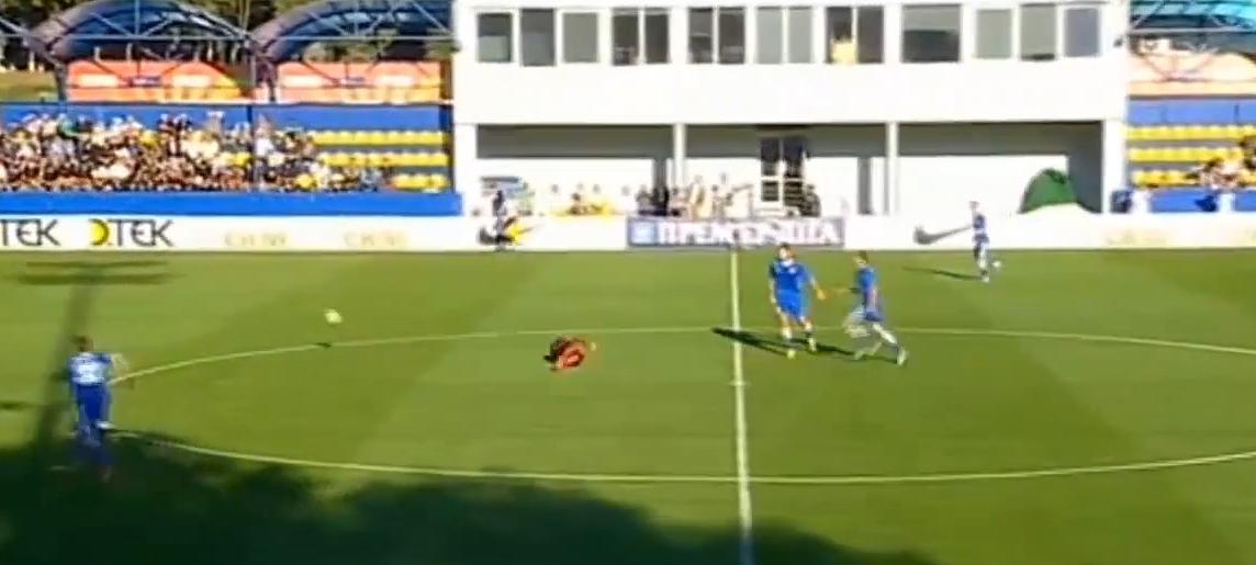 Une terrible intervention sur Luiz Adriano en Ukraine (vidéo)