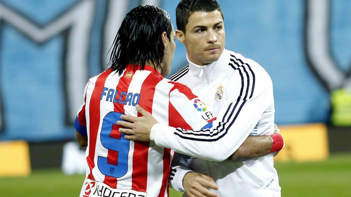 Radamel Falcao & Cristiano Ronaldo