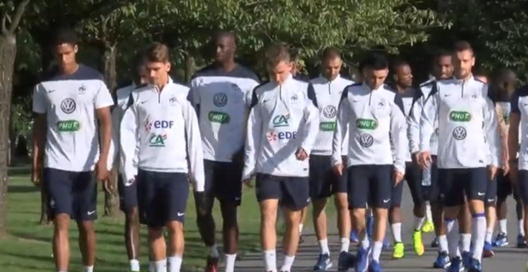 Équipe de France : Le premier entraînement des Bleus à Clairefontaine (vidéo)